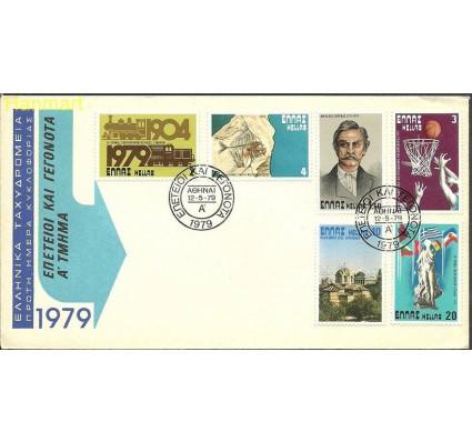 Znaczek Grecja 1979 Mi 1354-1359 FDC