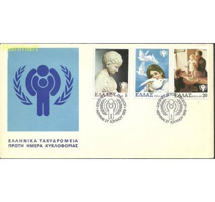 Grecja 1979 Mi 1362-1364 FDC