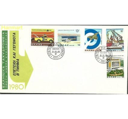 Znaczek Grecja 1980 Mi 1433-1437 FDC
