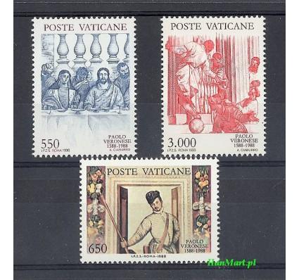 Watykan 1988 Mi 949-951 Czyste **