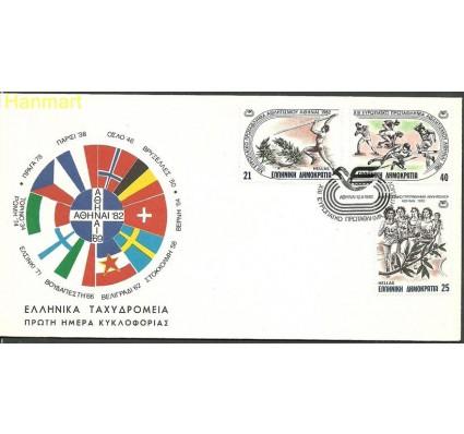 Grecja 1982 Mi 1483-1485 FDC