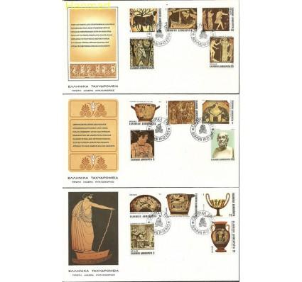 Znaczek Grecja 1983 Mi 1531-1545 FDC