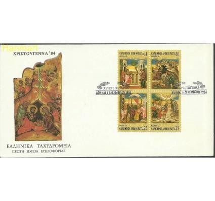 Znaczek Grecja 1984 Mi 1571-1574 FDC