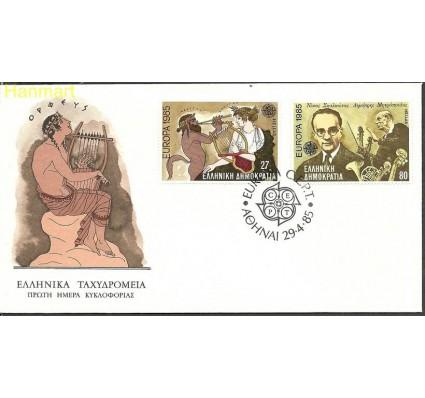 Znaczek Grecja 1985 Mi 1580-1581 FDC
