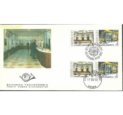 Znaczek Grecja 1990 Mi 1742-1743A-C FDC