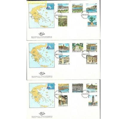 Grecja 1990 Mi 1749-1763 FDC
