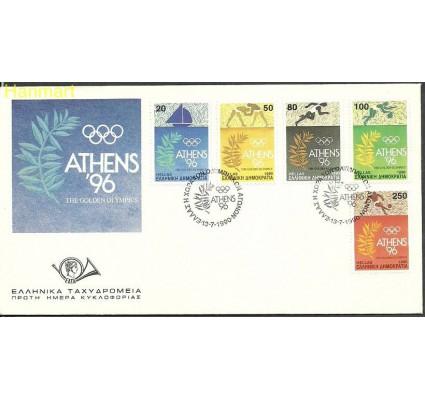 Znaczek Grecja 1990 Mi 1764-1768 FDC