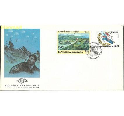 Znaczek Grecja 1991 Mi 1779-1780 FDC