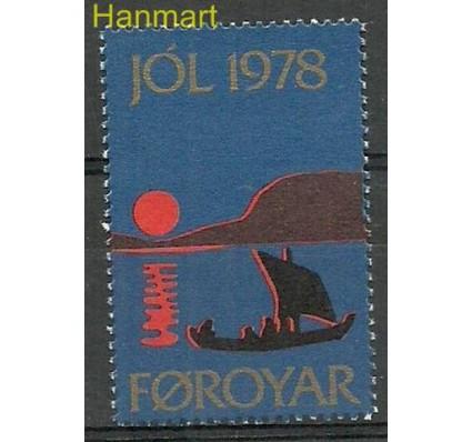 Znaczek Wyspy Owcze 1978 Mi jol 1978 Czyste **
