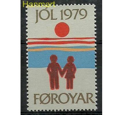 Znaczek Wyspy Owcze 1979 Mi jol 1979 Czyste **