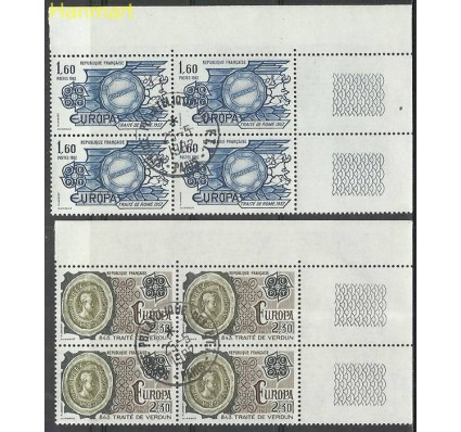 Znaczek Francja 1982 Mi marvie2329-2330 Stemplowane