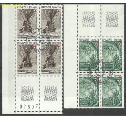 Znaczek Francja 1982 Mi marvie2367-2368A Stemplowane