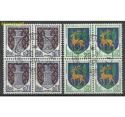 Znaczek Francja 1964 Mi vie1458-1459 Stemplowane