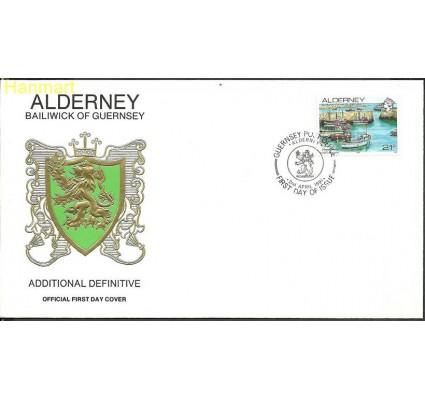 Znaczek Alderney 1991 Mi 48 FDC