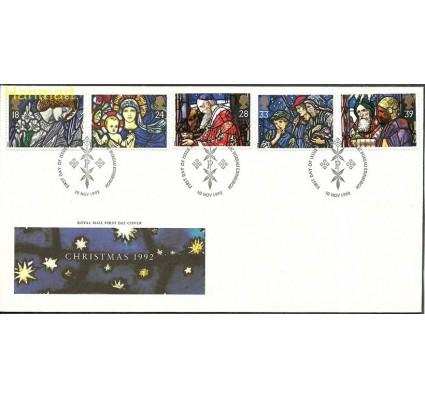 Wielka Brytania 1992 Mi 1421-1425c FDC