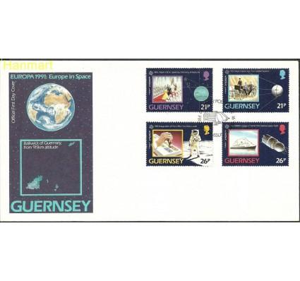 Znaczek Guernsey 1991 Mi 518-521 FDC