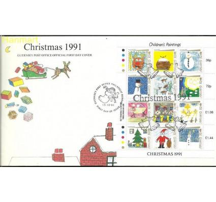 Znaczek Guernsey 1991 Mi 537-548 FDC