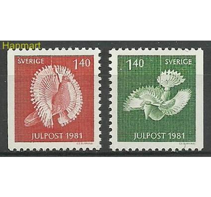 Znaczek Szwecja 1981 Mi 1173-1174 Czyste **