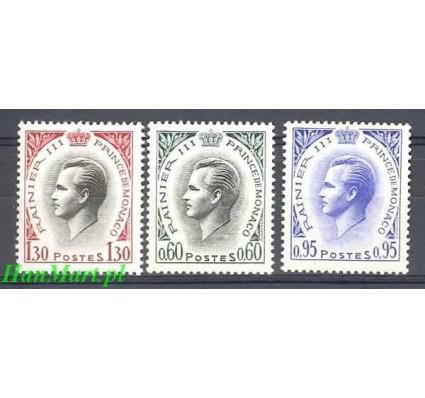 Monako 1964 Mi 779-781 Czyste **