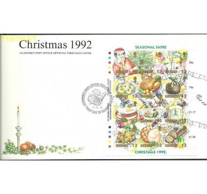 Znaczek Guernsey 1992 Mi 578-589 FDC