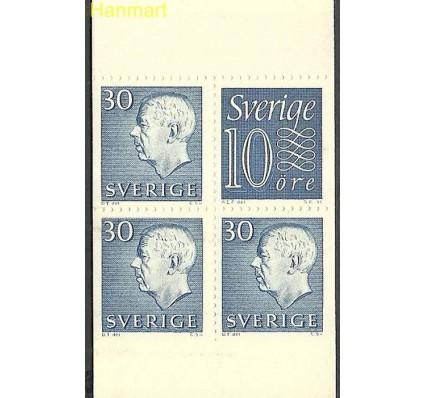 Znaczek Szwecja 1957 Mi mh 2ba Czyste **