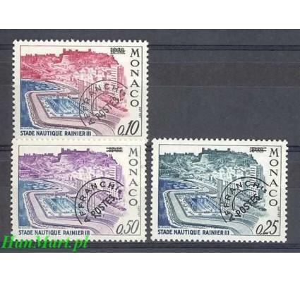 Znaczek Monako 1964 Mi 795-797 Czyste **