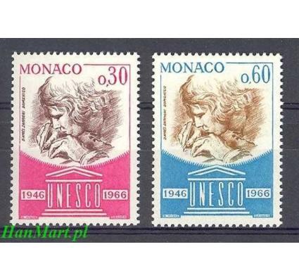 Znaczek Monako 1966 Mi 842-843 Czyste **