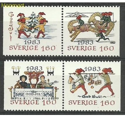 Znaczek Szwecja 1983 Mi 1258-1261 Czyste **