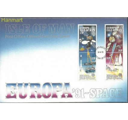 Znaczek Wyspa Man 1991 Mi 464-467 FDC