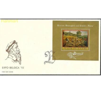Znaczek Rumunia 1972 Mi bl96 FDC
