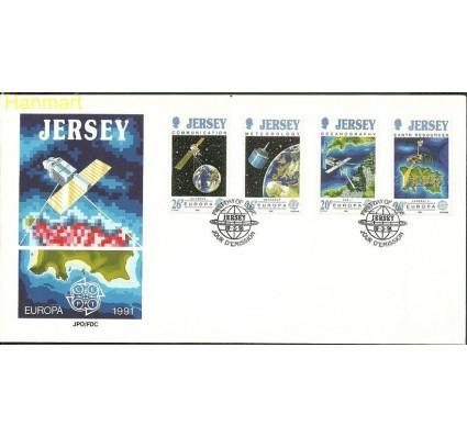 Znaczek Jersey 1991 Mi 539-542 FDC