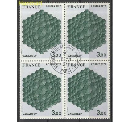Znaczek Francja 1977 Mi vie2022 Stemplowane