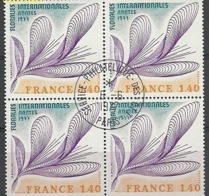 Znaczek Francja 1977 Mi vie2027 Stemplowane