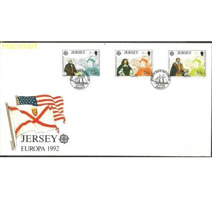 Znaczek Jersey 1992 Mi 574-576 FDC
