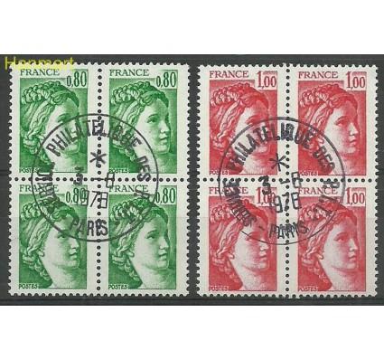Francja 1978 Mi vie2057-2058yv Stemplowane