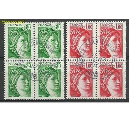 Francja 1978 Mi vie2057-2058ywa Stemplowane