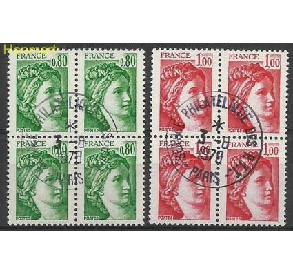 Znaczek Francja 1978 Mi vie2057-2058ywb Stemplowane