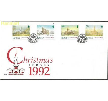 Znaczek Jersey 1992 Mi 591-594 FDC