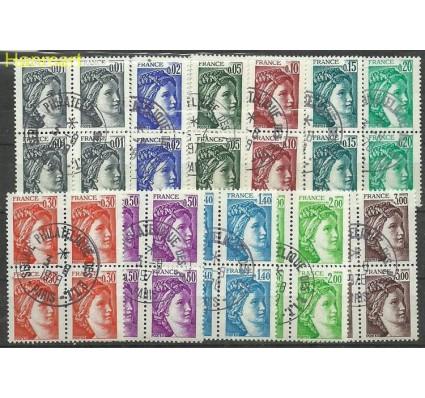 Francja 1978 Mi vie2080-2090v Stemplowane