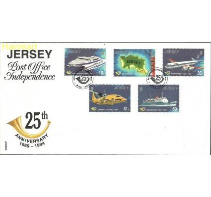Znaczek Jersey 1994 Mi 669-673 FDC