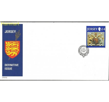 Jersey 1995 Mi 687 FDC