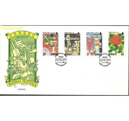 Znaczek Jersey 1998 Mi 827-830 FDC