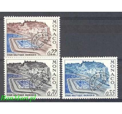 Monako 1969 Mi 938-940 Czyste **