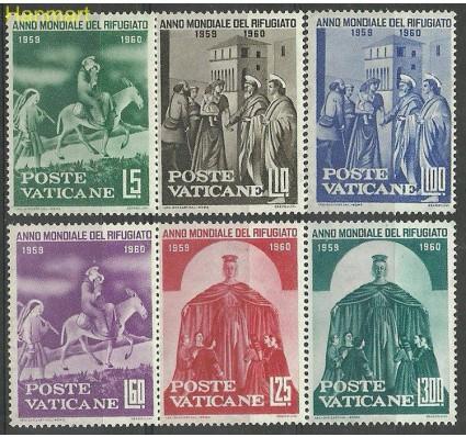 Znaczek Watykan 1960 Mi 338-343 Czyste **