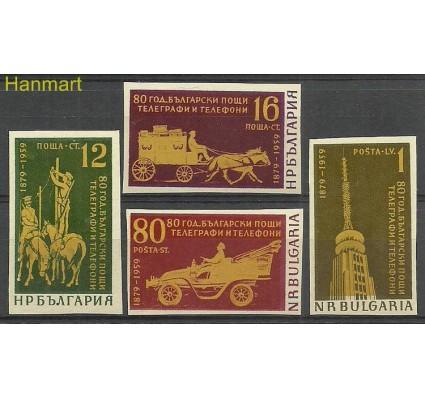 Znaczek Bułgaria 1959 Mi 1111-1114B Czyste **