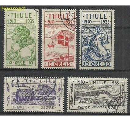 Znaczek Grenlandia 1935 Mi 1-5a Stemplowane