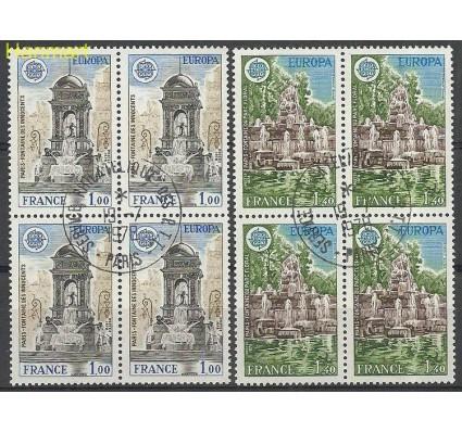 Znaczek Francja 1978 Mi vie2098-2099 Stemplowane