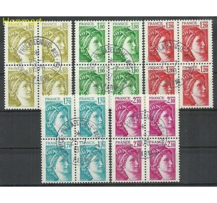 Znaczek Francja 1978 Mi vie2104-2108Awa Stemplowane