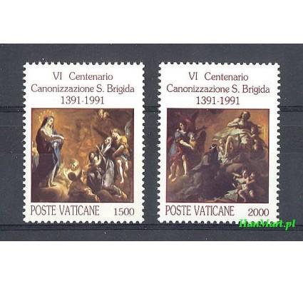 Watykan 1991 Mi 1038-1039 Czyste **