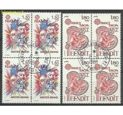 Znaczek Francja 1980 Mi vie2202-2203 Stemplowane